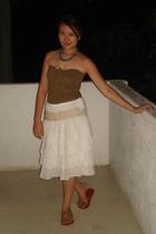 Guess tube top - bangkok skirt - Boracay necklace