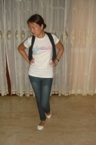 Billabong t-shirt - vest - jeans - Greenhills shoes