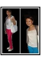Kamiseta top - jacket - shoes - Mango purse