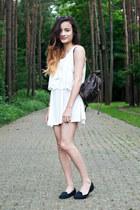 H&M dress - moms bag - American Apparel sunglasses - Monki top - Primark loafers