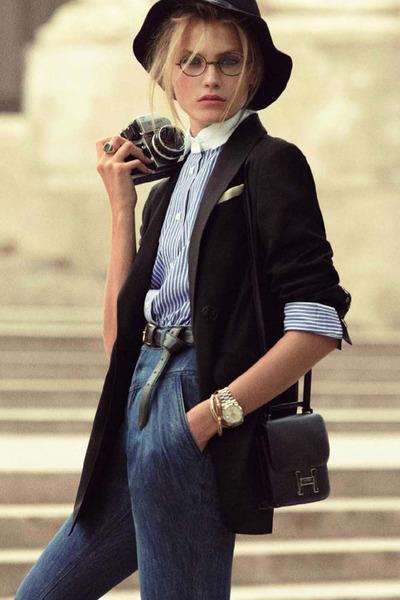 Vinatge glasses - vintage belt