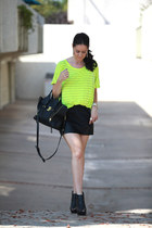 Michael Stars top - Zara skirt