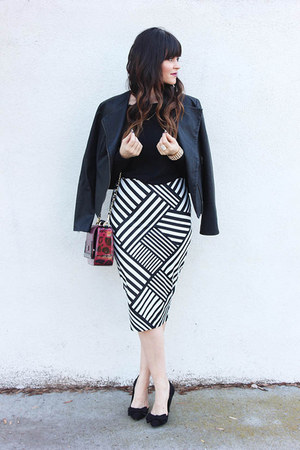 pencil skirt Kardashian Kollection skirt