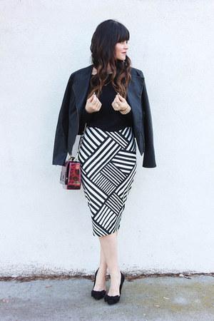 pencil skirt Kardashian Kollection skirt