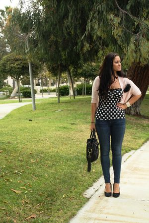 Forever 21 top - citizens of humanity jeans - Nine West shoes