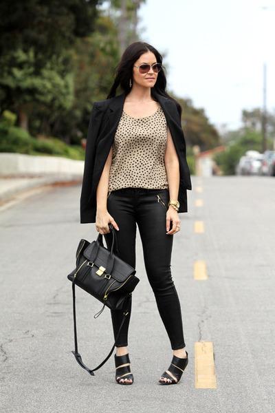 Christian Louboutin shoes - Fidelity Denim jeans - Elizabeth and James blazer