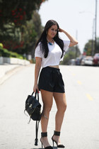31 Phillip Lim bag - Zara shorts - Forever 21 top