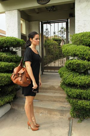 Target dress - Jessica Simpson shoes - Mulberry purse