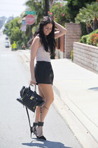 Zara shorts - 31 Phillip Lim bag - Zara pumps