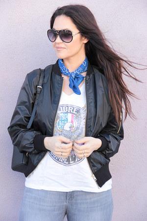 jeans - Boohoo jacket - Signorelli t-shirt