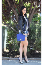 Zara jacket - Fidelity Denim shorts - H&M top