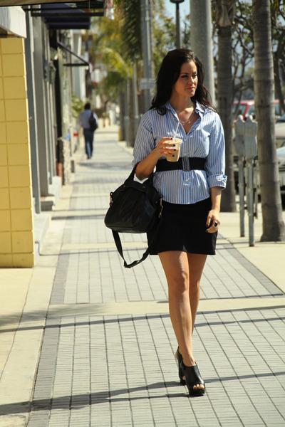 ann taylor top - H&M skirt - Dolce Vita shoes