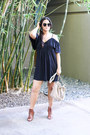 Navy-blue-justfab-dress-tan-justfab-bag-black-gojane-sunglasses