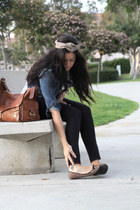 crossroads trading company shoes - Forever21 jacket - Mulberry bag