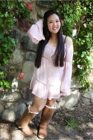 bearpaw boots - la hearts dress PacSun dress