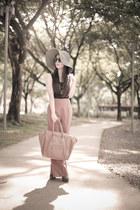 camel luggage tote Celine bag