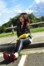 Studded-shoes-siren-heels-leather-saba-jacket