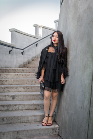 black a line Dezzal dress