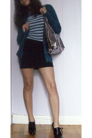 American Eagle - Gap shirt - H&M skirt - purse - shoes