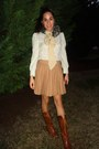 Gray-faux-fur-anthropologie-scarf-brown-jeffrey-campbell-boots