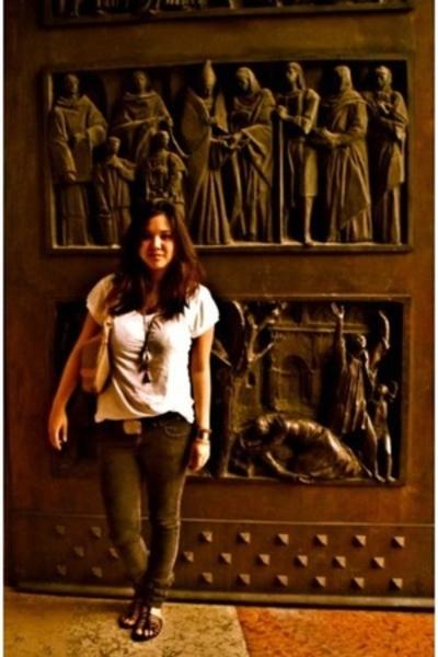 SM shirt - SM jeans - DKNY belt - parisian by SM shoes - Gucci purse