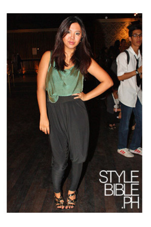glasnost top - glasnost pants - Zara shoes