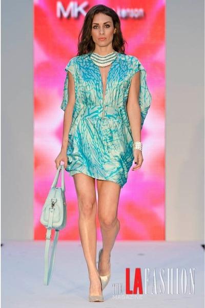Marissa Kensington dress - Glass Handbag bag