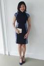 Lark-and-peony-dress-bcbg-max-azria-bag-zara-heels