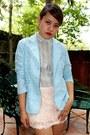 Peach-kisses-co-skirt-sky-blue-sosi-stuff-blazer-periwinkle-thrifted-top