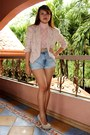 Beige-sosi-stuff-blazer-light-blue-diy-shorts-light-pink-vintage-top