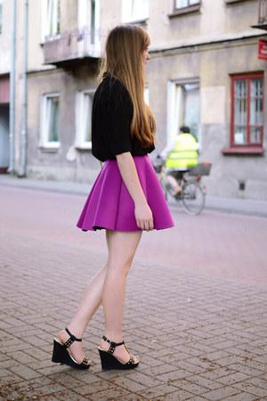 magenta Choies skirt