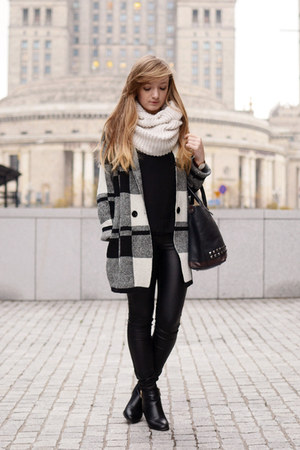 black OASAP coat