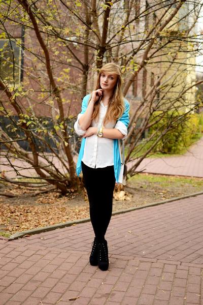 aquamarine foymall sweater