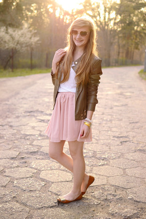 light pink Oasapcom skirt
