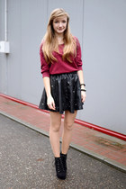 black choiescom skirt