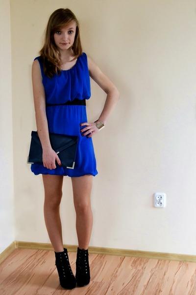 blue no name dress
