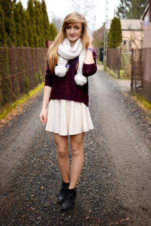 beige OASAP skirt