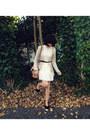 Ivory-lace-romwe-dress-nude-amalie-satchel-witchery-bag