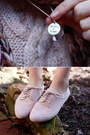Light-pink-miller-suede-jeffrey-campbell-flats-brown-multi-knit-dotti-scarf