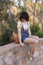 Brown-mini-alexa-my-leather-bag-blue-denim-modcloth-romper