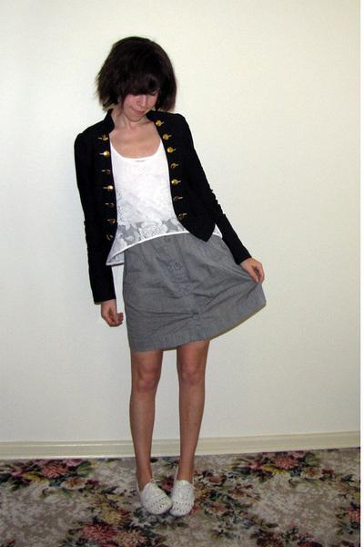 Valleygirl jacket - Valleygirl top - Sportsgirl skirt - Steve Madden shoes