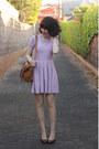 Light-purple-knit-asos-dress-tawny-alexa-my-leather-bag