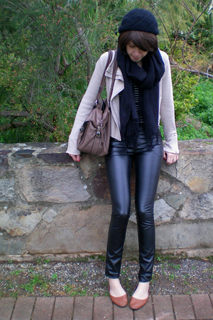 Chiara Fashions pants - Sportsgirl jacket - Mimco purse - bardot top - Joanne Me
