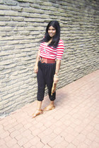 Urban Outfitters purse - H&M pants - Urban Planet belt - Forever 21 necklace - F