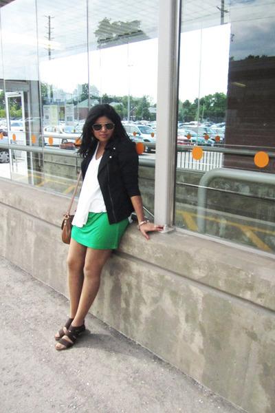Costa Blanca dress - LA Kitty jacket - Forever 21 shirt - Forever 21 sunglasses