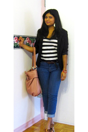Suzy Shier jeans - Forever 21 blazer - H&M accessories - Forever 21 top - Urban