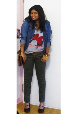 Spring shoes - Spring shoes - Forever 21 shirt - H&M shirt - Forever 21 bag - vi