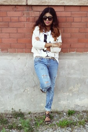 le chateau shoes - Aeropostale jeans - Vero Moda jacket - Forever 21 shirt