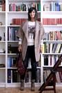 Lace-up-boots-proenza-schouler-boots-camel-coat-zara-coat