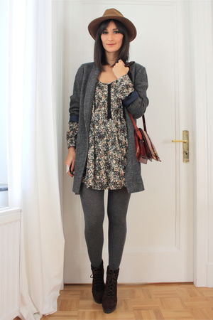 H&M dress - Massimo Dutti coat